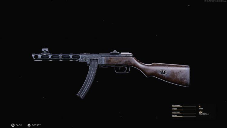 Black Ops Cold War PPSH-41 Class