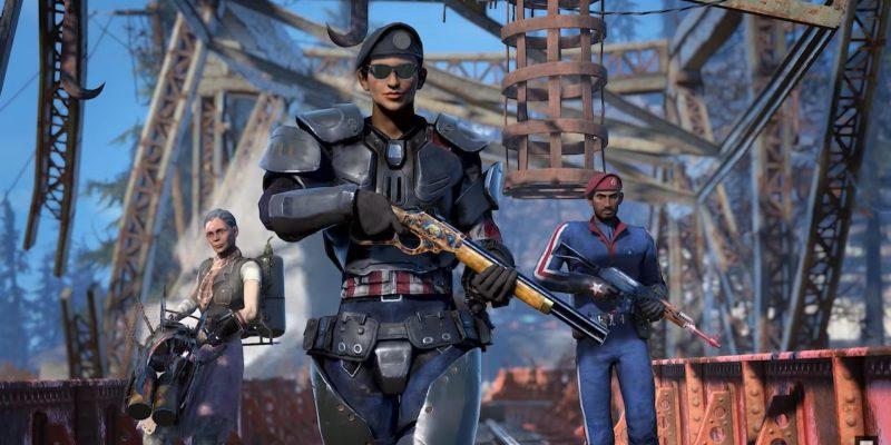 Fallout 76 Armor Ace Update Season Locked & Loaded