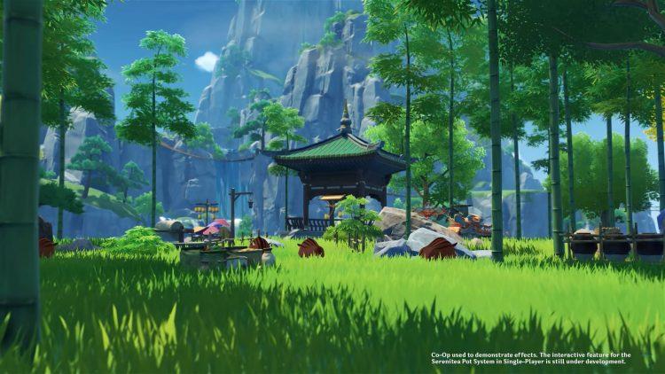 Genshin Impact Graphics best grass gaming pc