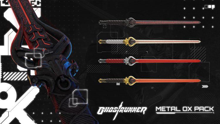 Ghost Runner Paid Dlc New Modes Metal Ox Cosmetics Katanas