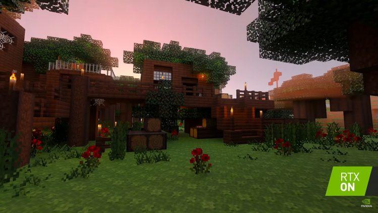 Nvidia Rtx Minecraft Grass