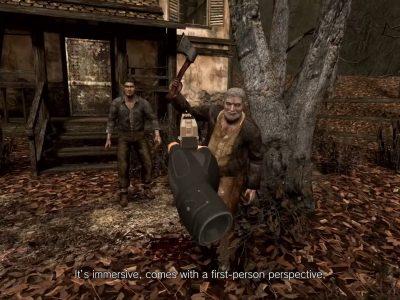 Resident Evil 4 Vr Oculus Capcom