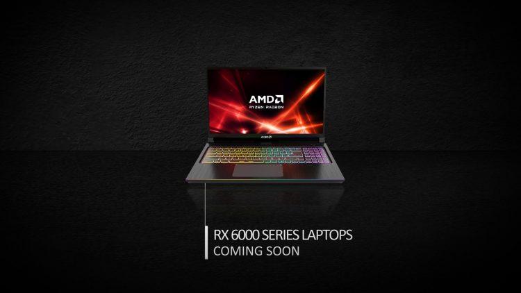 Radeon RX 6000 Mobile GPUs laptop