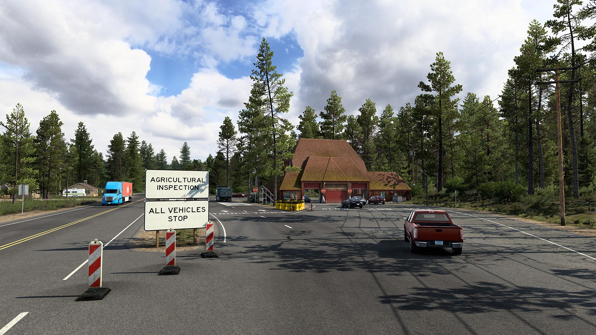 American Truck Simulator California Reskin Project 2