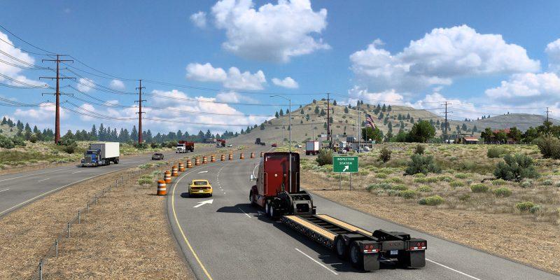 American Truck Simulator California Reskin Project 3