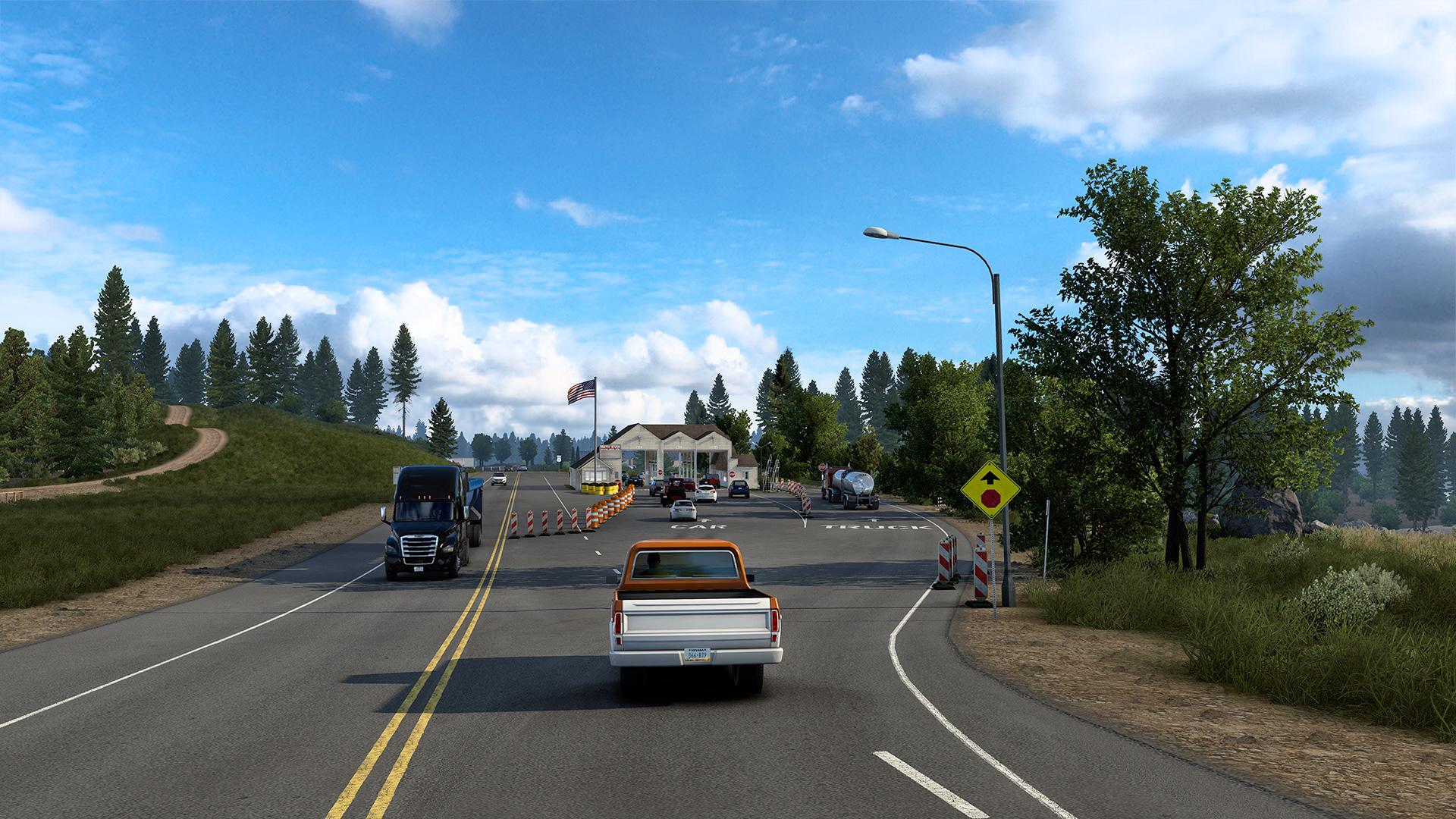 American Truck Simulator California Reskin Project