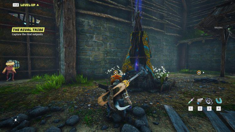 Biomutant Psi Points gameplay shrines