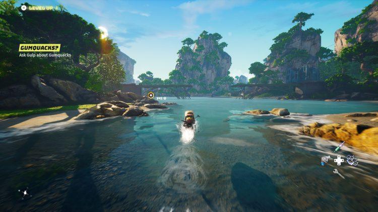 Biomutant Review gameplay