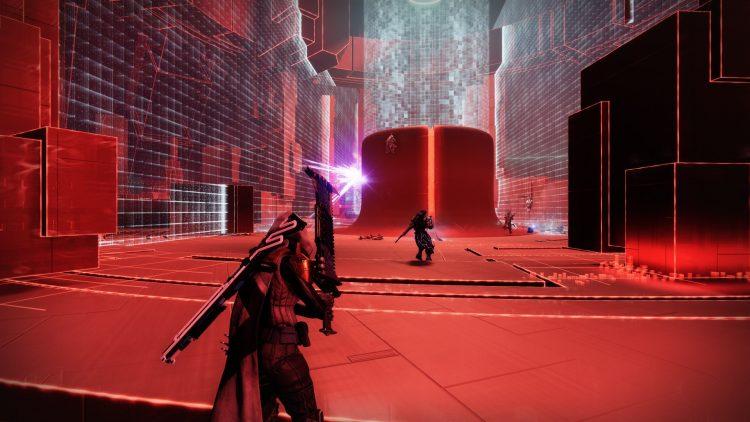 Destiny 2 Override Tangled Shore Expunge Labyrinth Thesmotae Boss 1