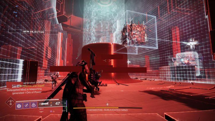 Destiny 2 Override Tangled Shore Expunge Labyrinth Thesmotae Boss 2