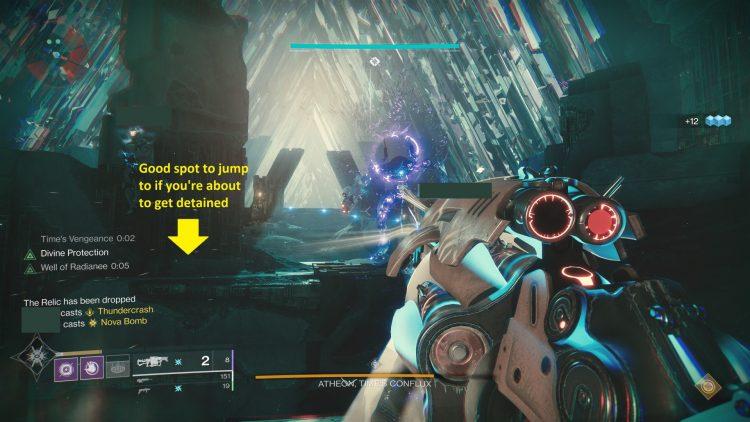 Fate 2 cellar of glass raid guide Athion Boss 1 a