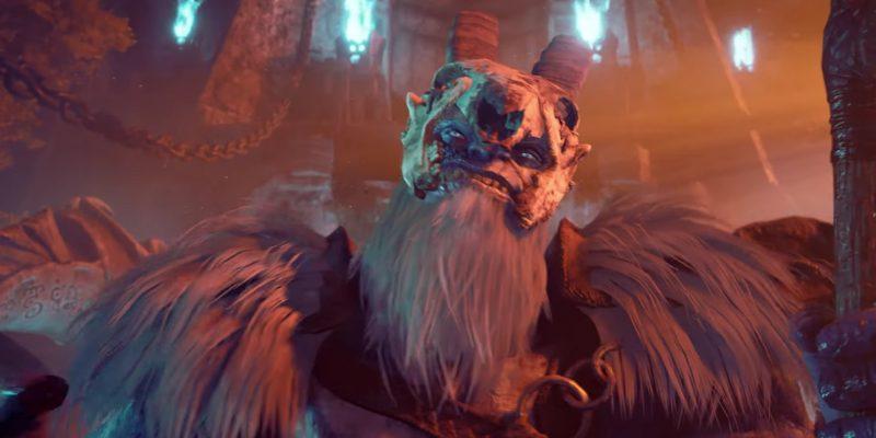 Dungeons & Dragons Dark Alliance Kelvin Frost Giants trailer