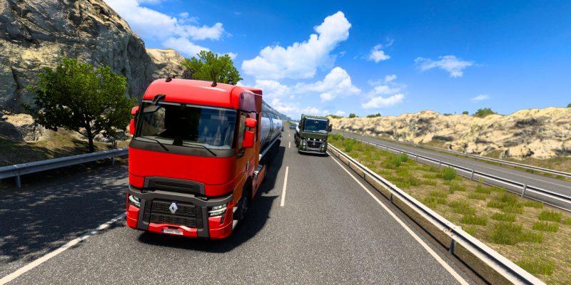 Euro Truck Simulator 2 Multiplayer Double Truck Run