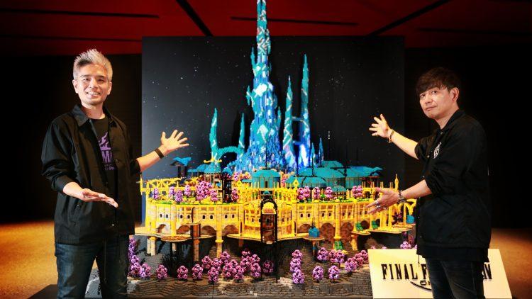 Final Fantasy Xiv Art Exhibition Crystarium Block City Tokyo University 1