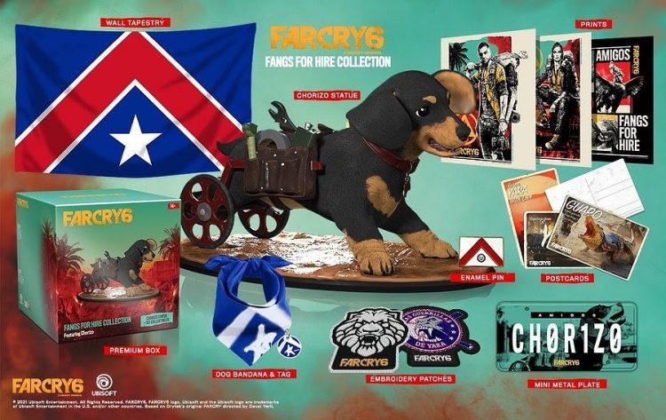 Far Cry Chorizo collectors edition
