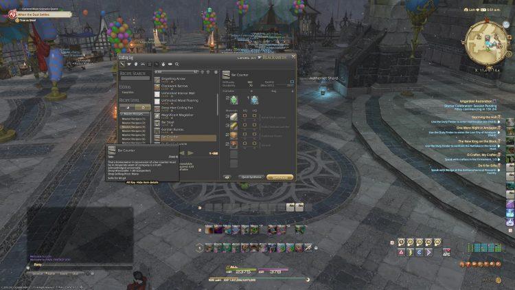 ffxiv crafting Naoki Yoshida interview final fantasy xiv gathering