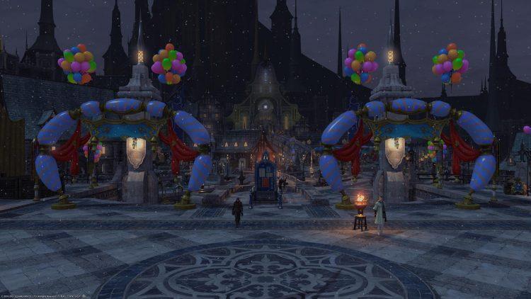 Final Fantasy XIV - Ishgard Restoration gathering ffxiv