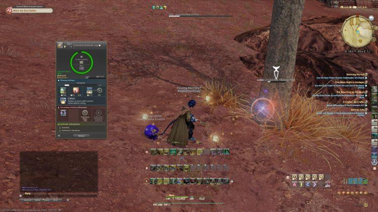 Final Fantasy XIV Collectable HUD Naoki Yoshida interview