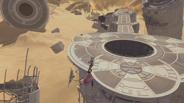 Final Fantasy Xiv Nier Raids 04