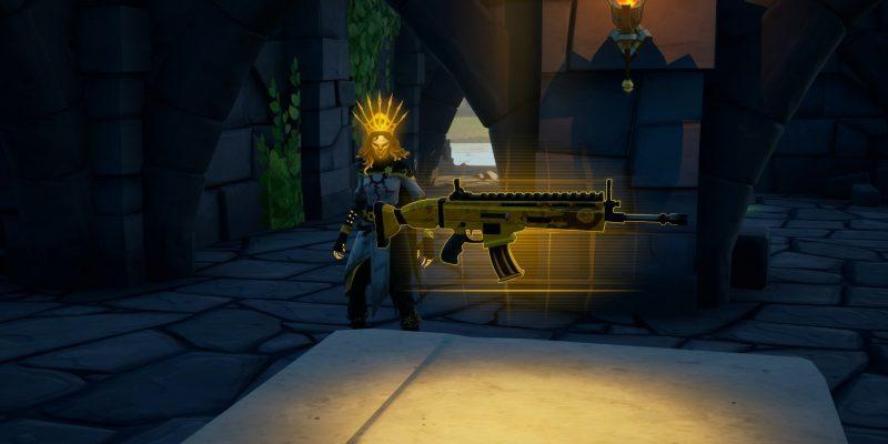 Fortnite Gold Lara Croft