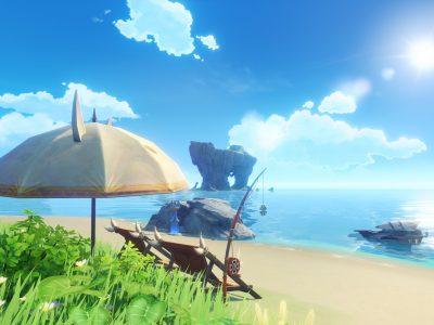 Genshin Impact Midsummer Island Adventure Version 1.6 Kazuha Announcement