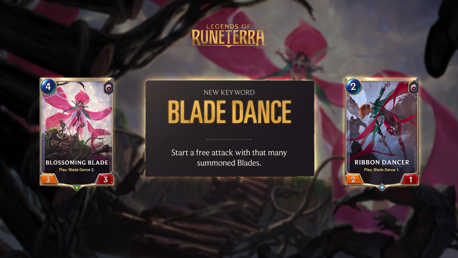 gota blade dance