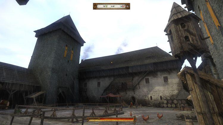 Kingdom Come Deliverance Courtyard