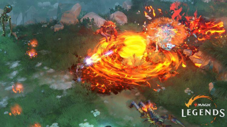 Magic Legends Pyromancer Abilities gameplay cryptic studios