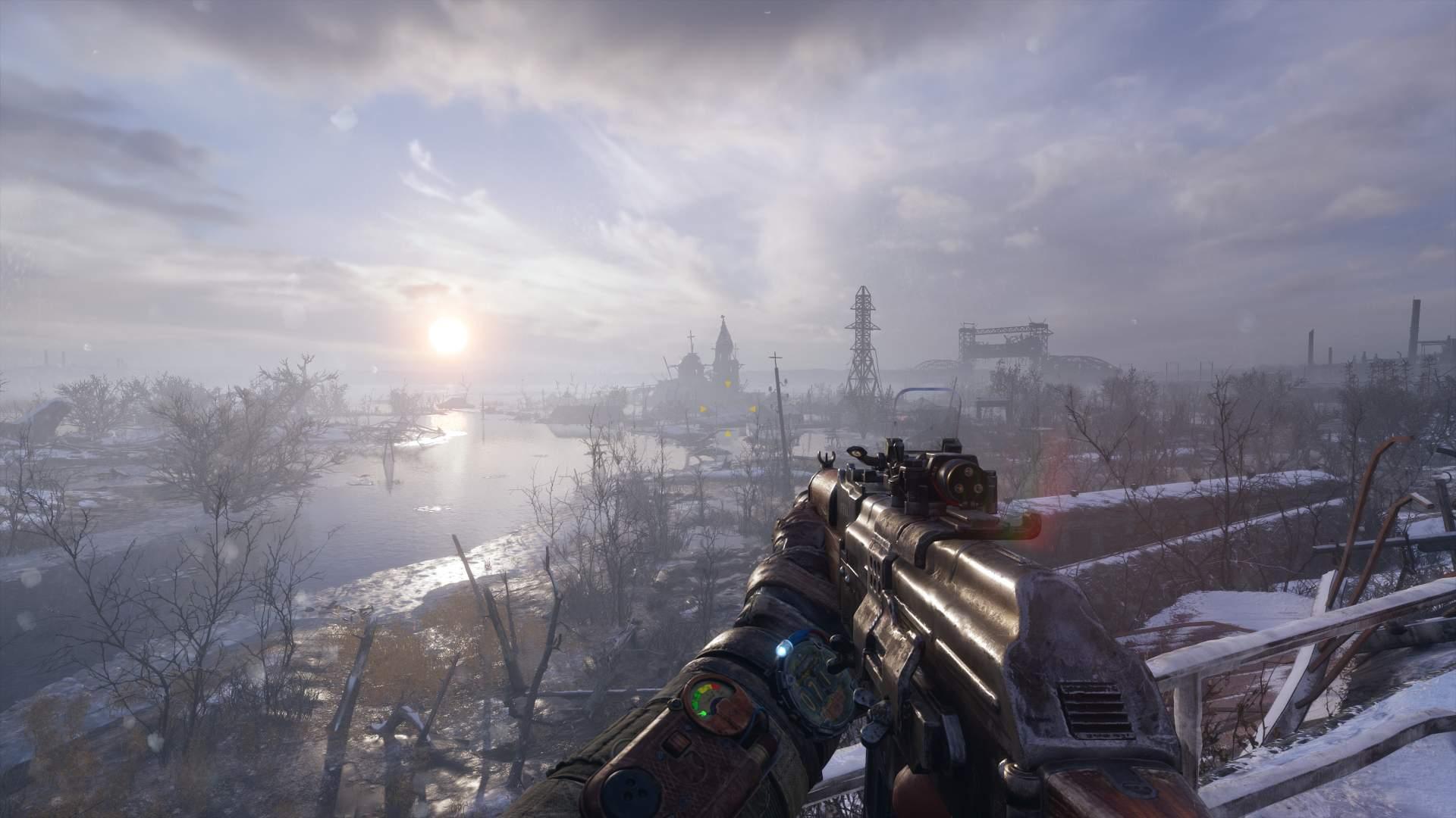 Metro Exodus Enhanced Edition Volga Outdoors With Gun