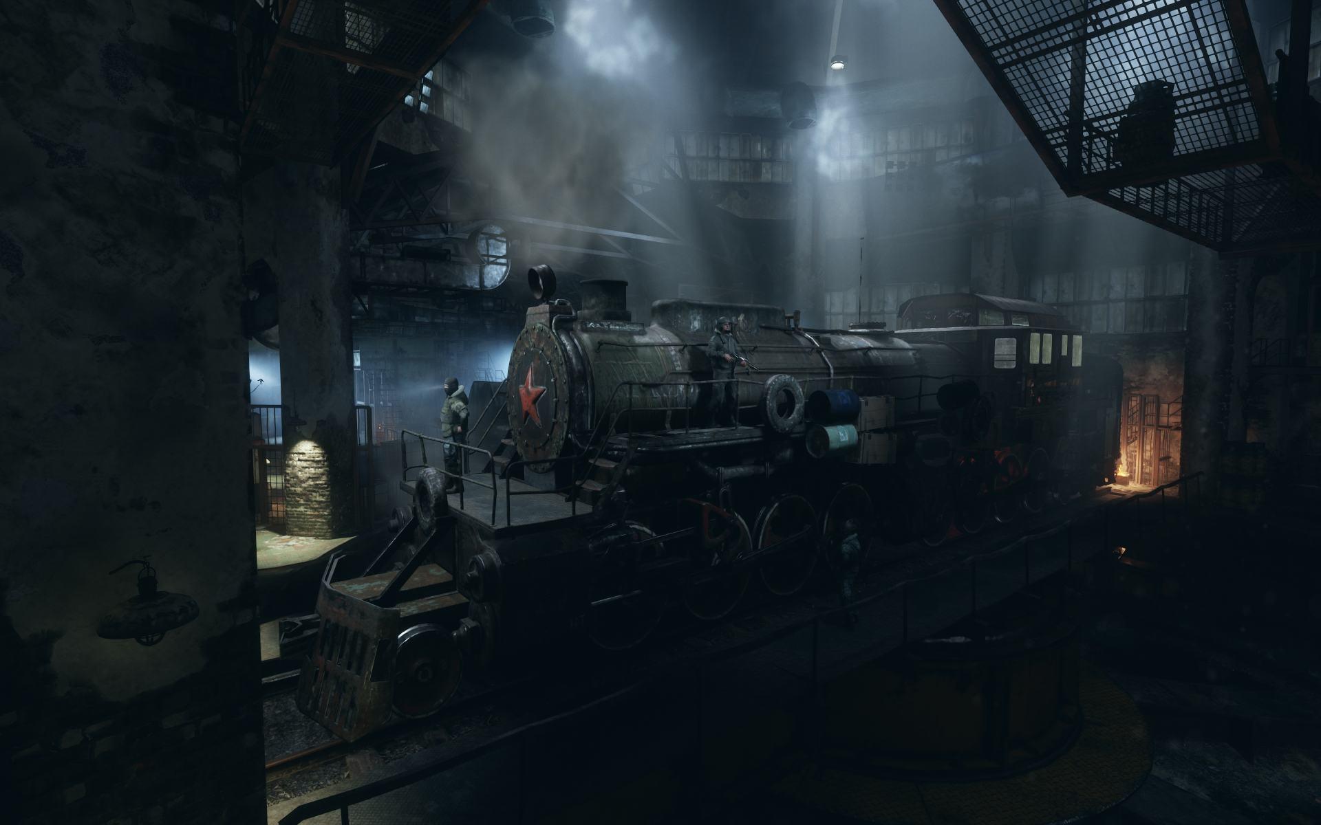 Metro Exodus Pc Enhanced Edition Aurora Train Reveal