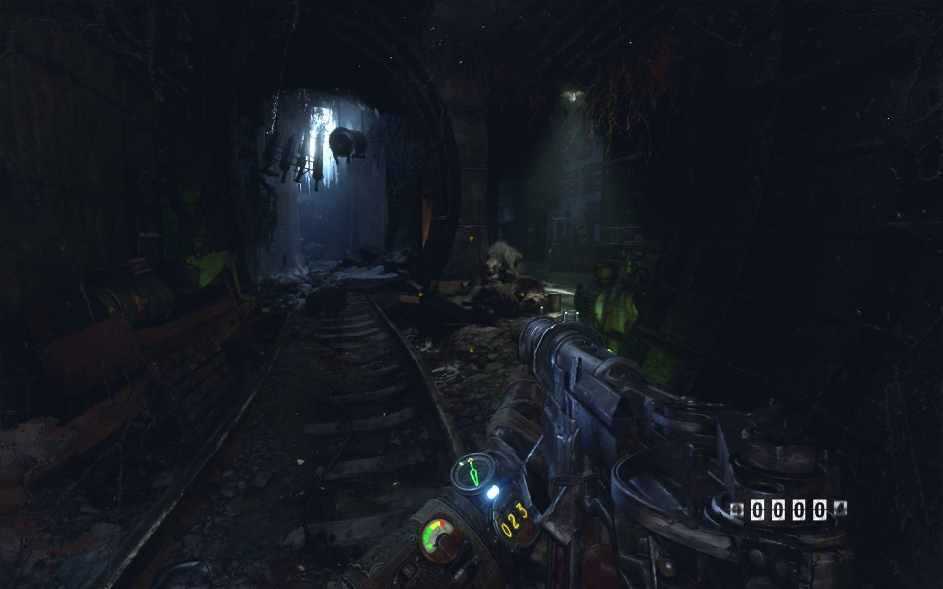 Metro Exodus Pc Enhanced Edition Fighting Mutants Darkness
