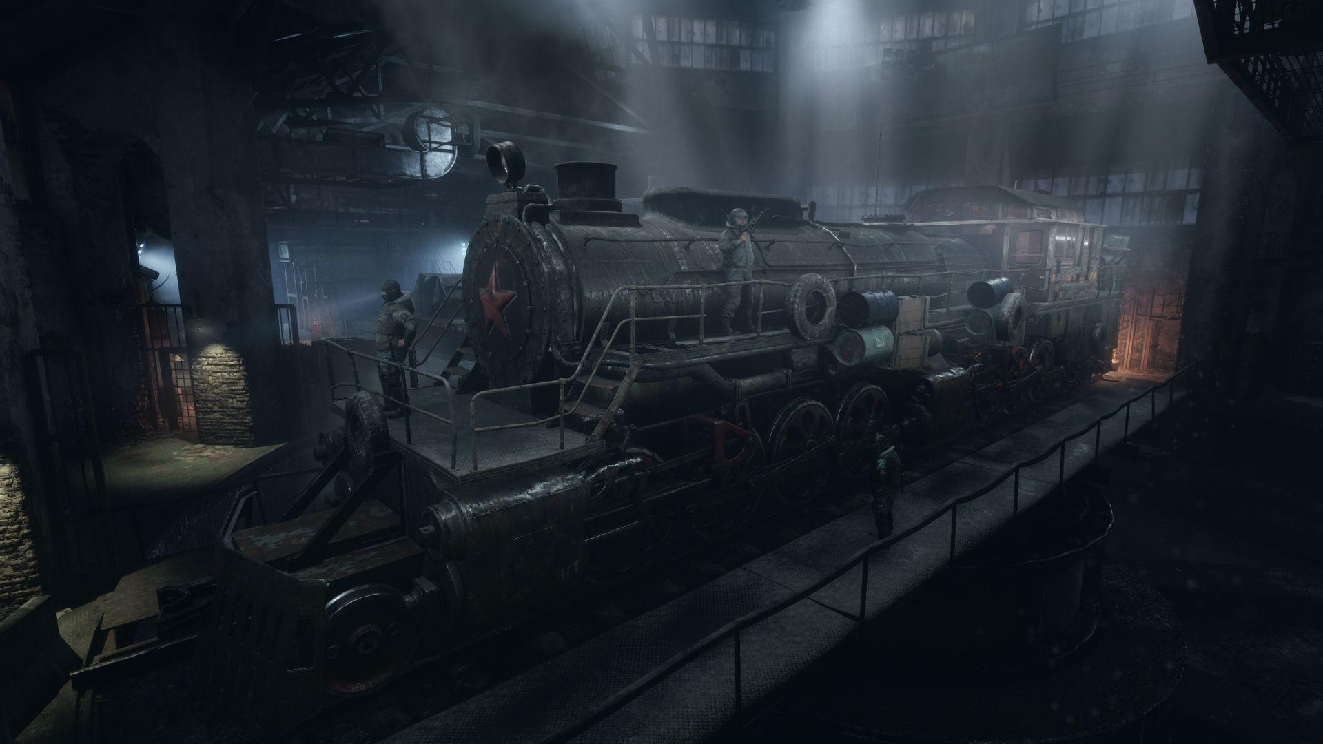 Metro Exodus Original Aurora Train Reveal
