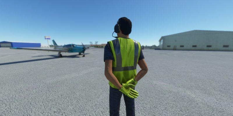 Microsoft Flight Simulator Aircraft Standby