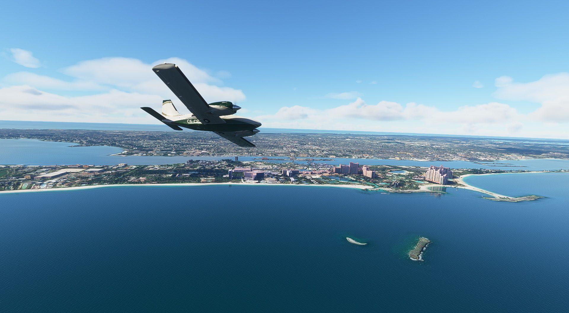 Microsoft Flight Simulator Carenado Pa34t Seneca V Atlantis Ascent