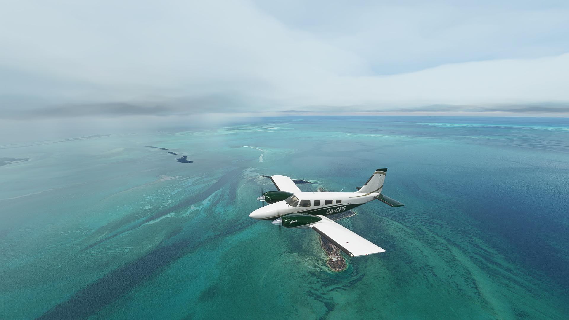 Microsoft Flight Simulator Berry Island Blues
