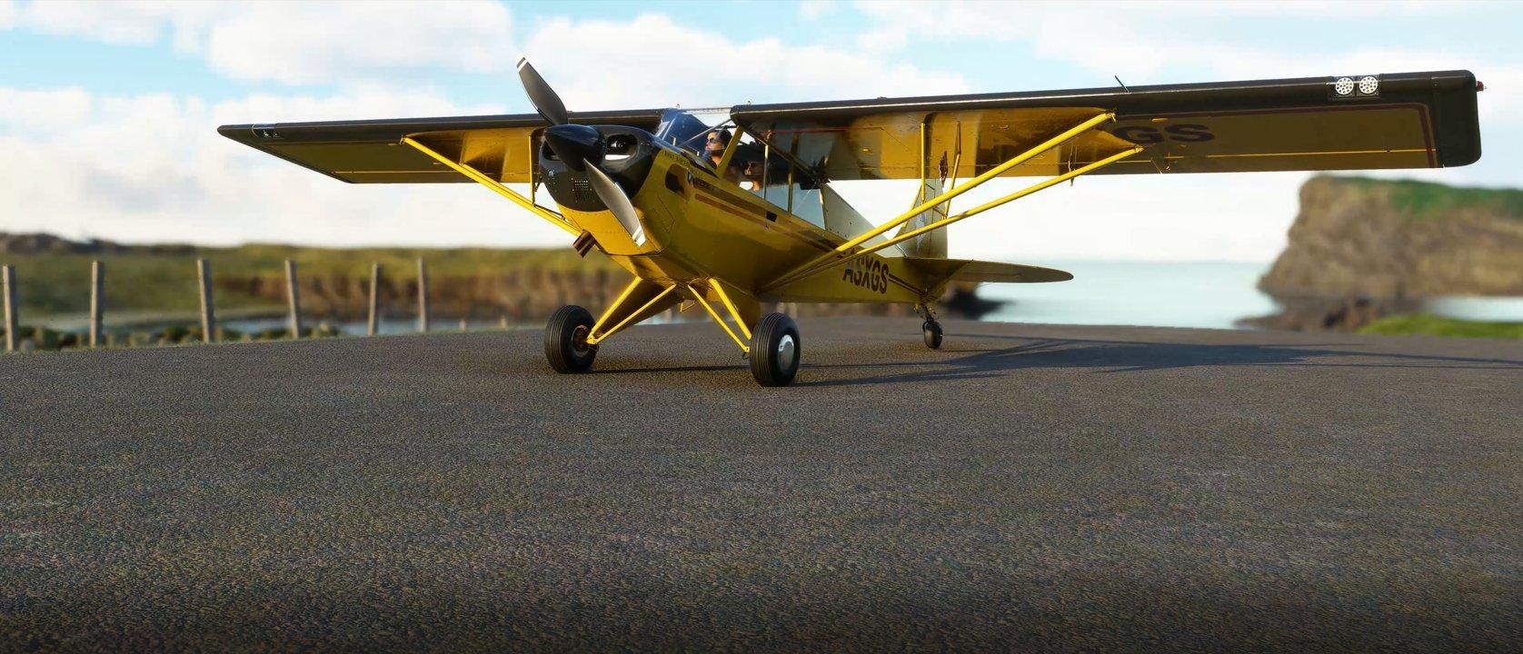 Microsoft Flight Simulator Husky A 1c new planes