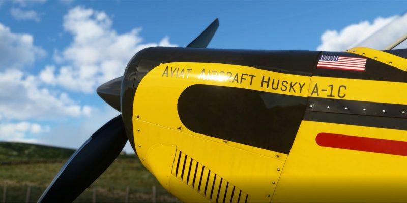 Microsoft Flight Simulator Husky A 1c 2