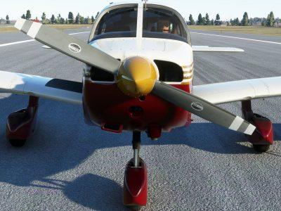 Microsoft Flight Simulator Just Flight Piper Warrior Ii Wip 1