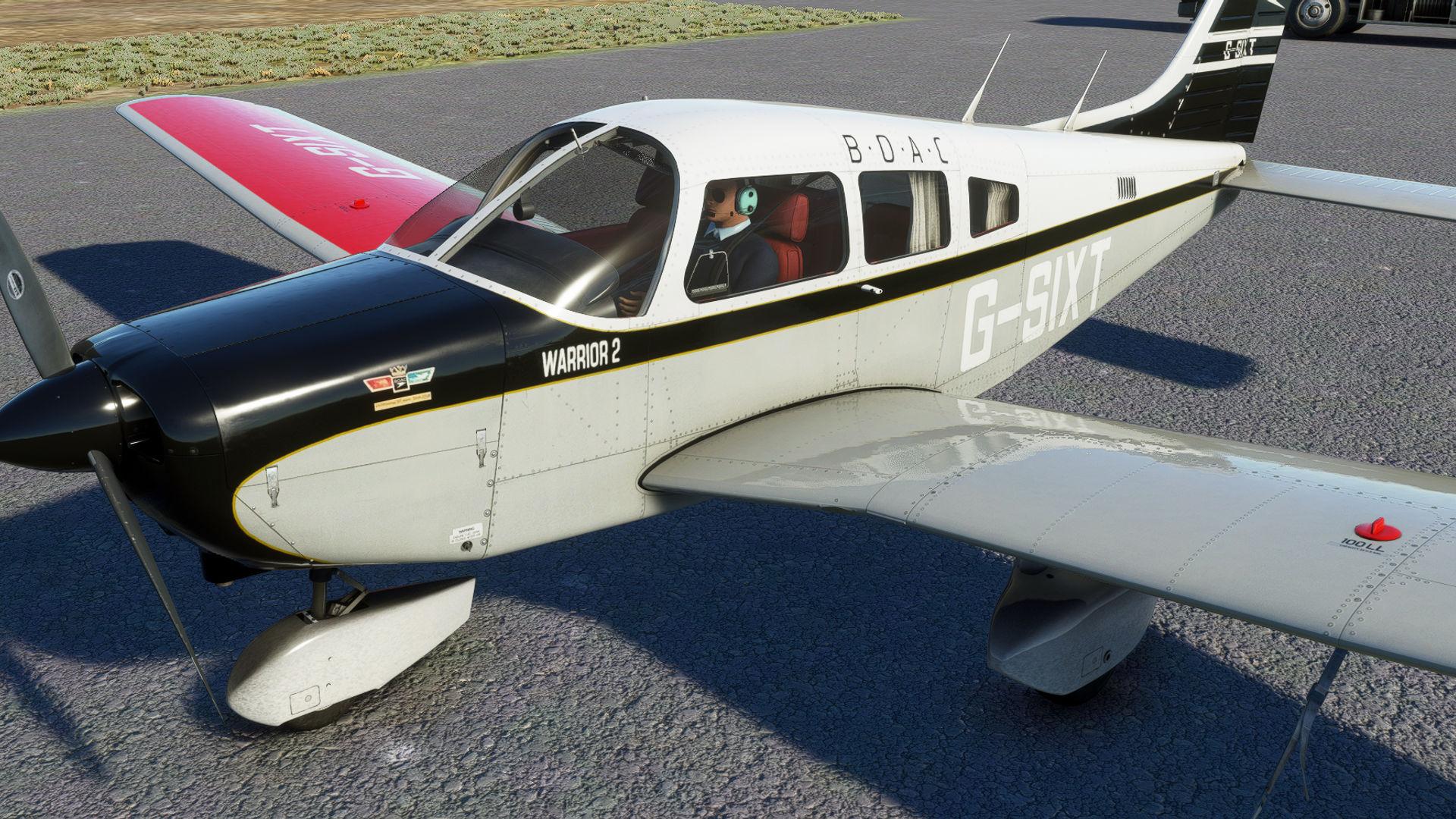 Microsoft Flight Simulator Just Flight Piper Warrior Ii Wip 2