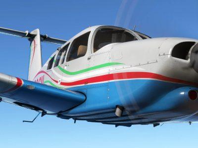 Microsoft Flight Simulator Just Flight Turbo Arrow Iii Iv 1