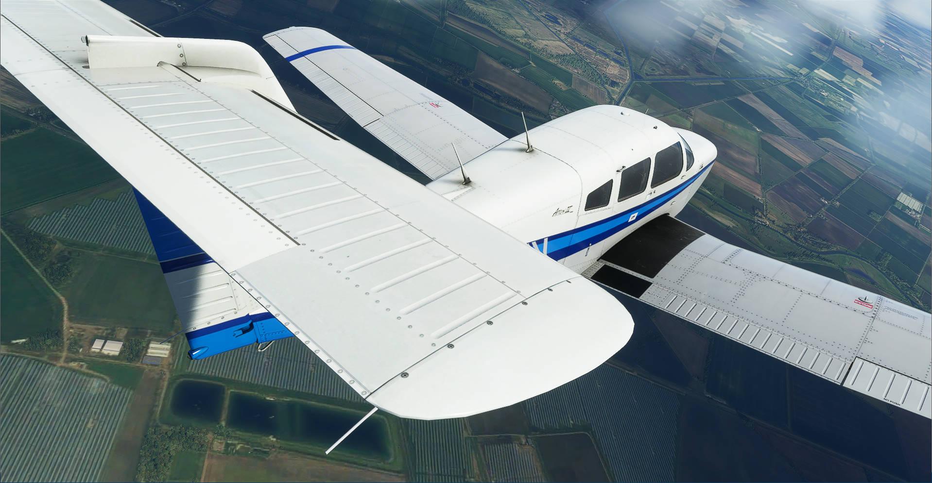 Microsoft Flight Simulator Just Flight Turbo Arrow Iii Iv 3