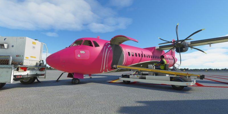 Microsoft Flight Simulator Silver Atr On Ramp