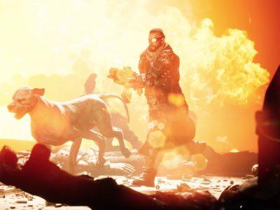 Necromunda Hired Gun Cyber Dog Trailer
