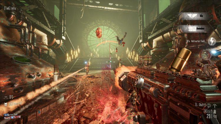 Necromunda Hired Gun Review gameplay guns enemies
