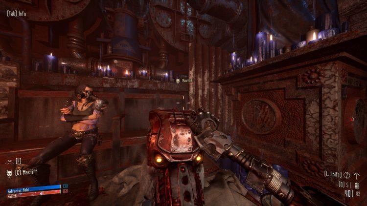 Necromunda Hired Gun Review guns gameplay