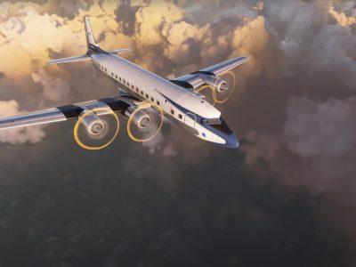 Pmdg Dc 6 First Look For Microsoft Flight Simulator