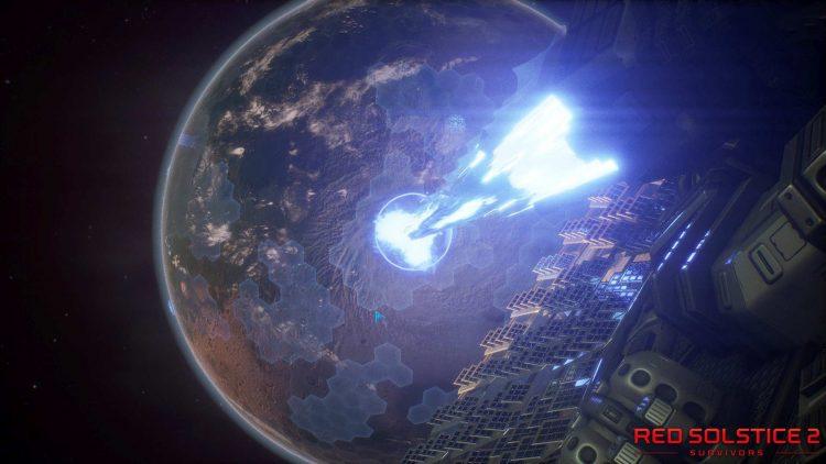 Red Solstice 2 Solar gameplay story cutscene
