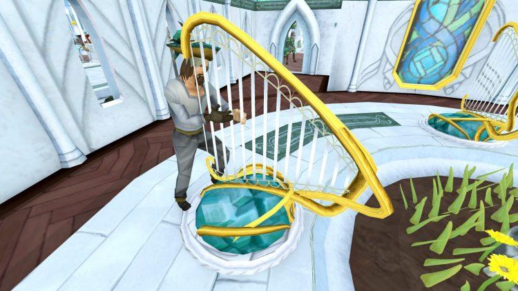 Runescape Travelling Merchant Priff Harp