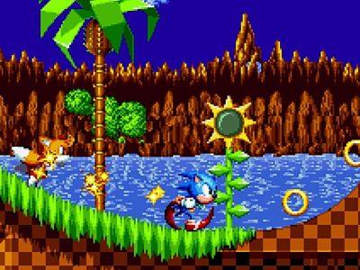 Sega Super Game Sonic Mania Gameplay Stage 1