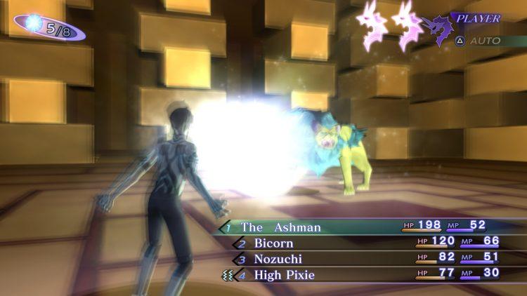 Battle of Shin Megami Tensei Remaster